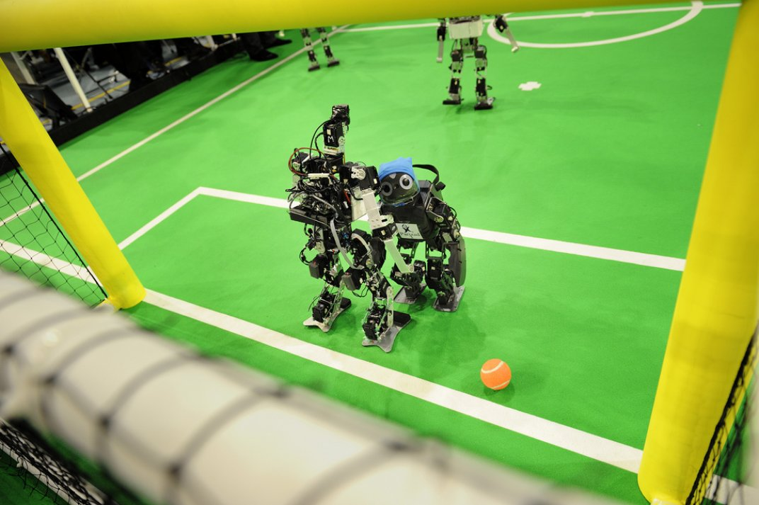 World Cup-worthy robots by 2050? | Dark Matters Project