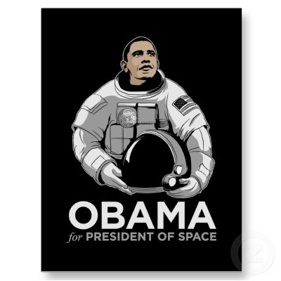 Obama - Pres of Space