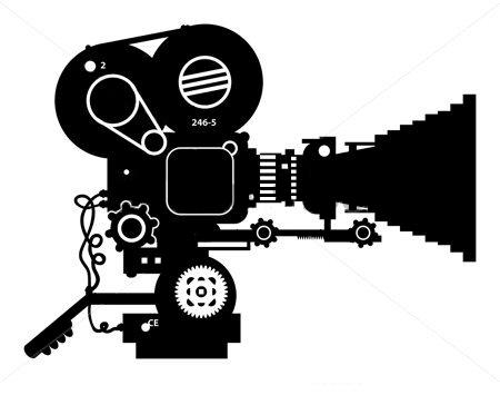 stock-vector-retro-film-cinema-camera-vector-illustration-75092707