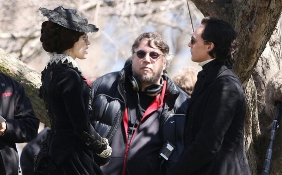 CrimsonPeakFilming