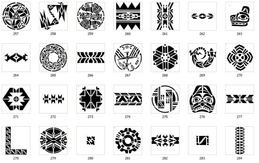 Polynesian Tribal Tattoo Symbols And Meanings Choice Image Meaning