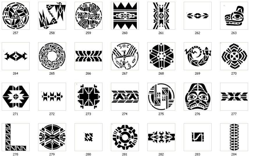 Navajo Designs Meanings Native American Symbols Descriptions
