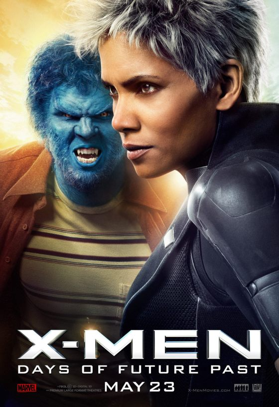 X-Men-Days-of-Future-Past-Movie-Poster-Beast-and-Storm