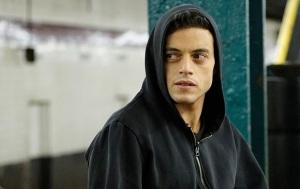 Rami Malek as Elliot Alderson in USA Network's Mr. Robot