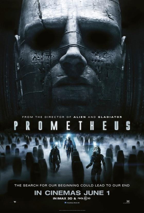 Prometheus new one-sheet poster