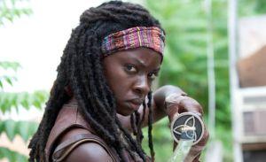 Actress Danai Gurira is Michonne on The Walking Dead