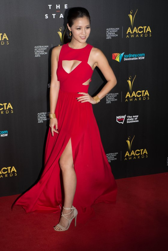 Grace_Huang_on_2014_AACTA_Awards_red_carpet