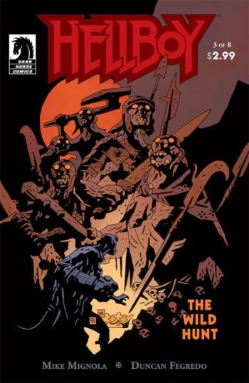 Hellboy Wild Hunt 3 cover