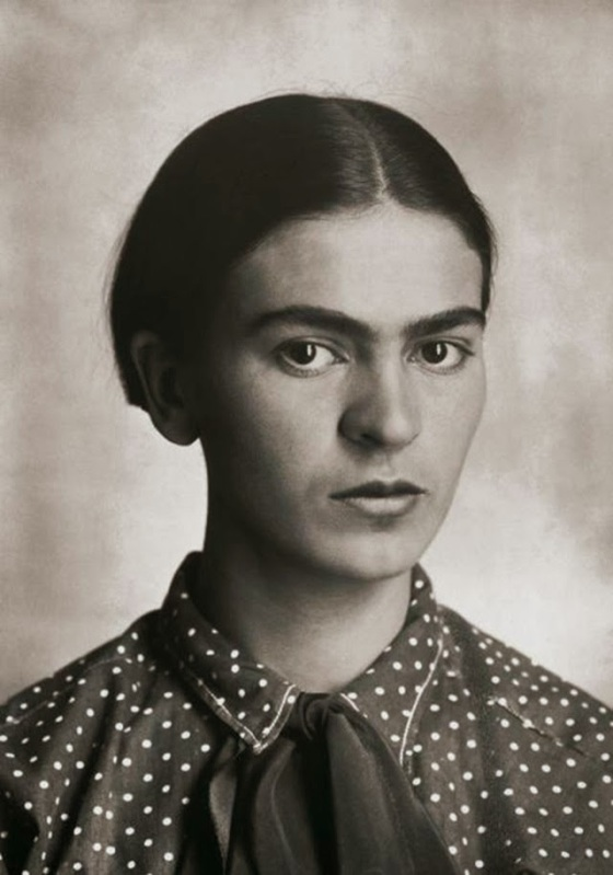 Portraits of Young Frida Kahlo by Her Father Guillermo Kahlo (10)