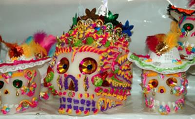 Metepec-skulls