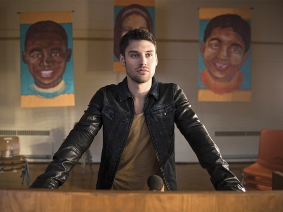 "HEROES REBORN -- ""Awakening"" Episode 101 -- Pictured: Ryan Guzman as Carlos -- (Photo by: Christos Kalohoridis/NBC)"