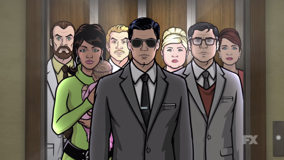 """Cast of """"Archer"""" on FXX"""