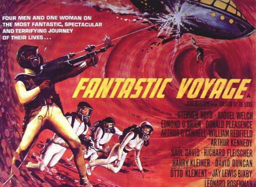 "Poster for the original ""Fantastic Voyage"" (1966)"