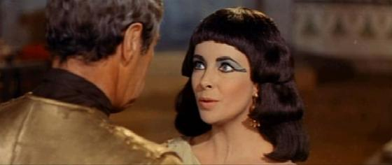 """Rex Harrison and Elizabeth Taylor in 1963's """"Cleopatra"""""""