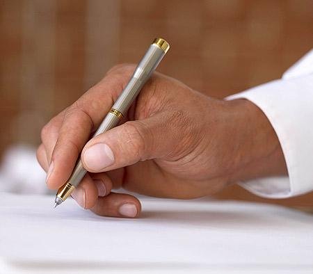 Hand-writing