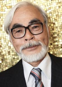 Director Hayao Miyazaki at the 2008 Venice Film Festival