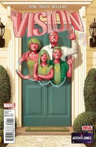 """""""The Vision"""" from Marvel Comics"""