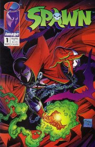 """Cover of """"Spawn #1"""""""