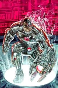 Cover to Secret Origins #5 (August 2014). Art by Lee Bermejo.