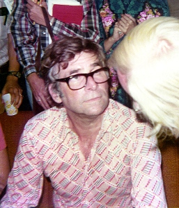 Star Trek creator, producer and writer Gene Roddenberry , 1976. - Photo Credit: Larry D. Moore