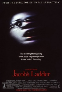 Theatrical release poster for 1990's Jacob's Ladder - Photo via Wikipedia