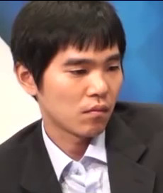 Professional Go player Lee Sedol