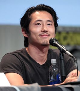 Actor Steven Yeun at the 2015 San Diego Comic Con - Photo by Gage Skidmore