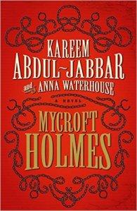 Cover of Kareem Abdul Jabbar's origin story about Sherlock Holmes's brother Mycroft