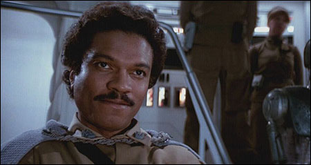 Billy Dee Williams played Lando Calrissian in The Empire Strikes Back and Return of the Jedi.