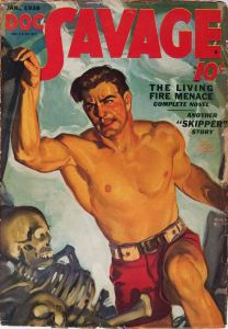 Cover of Doc Savage book, edition: January 1938