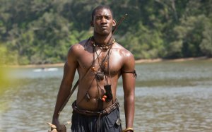 Malachi Koirby as Kuinta Kinte in the 2016 remake of the legendary miniseries Roots