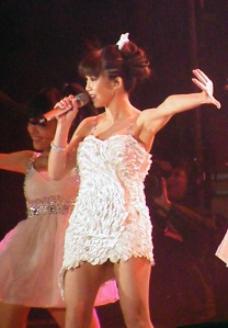 Actress/singer Yao Yao to star. Here she is performing at a 2011 New Year's Eve party, and not looking very psychic.
