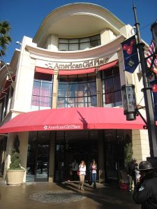 American Girl Doll store in Los Angeles