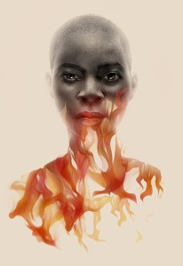 greg Ruth's art for Nnedi Okorafor's The Book of the Phoenix.