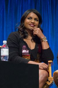 Kaling at Paleyfest in 2013 for The Mindy Project