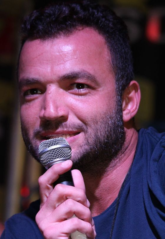 Actor Nick Tarabay at Florida SuperCon, 2014