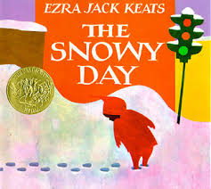 Cover of Ezra Jack Keats's Caldecott-winning children's classic The Snowy Day