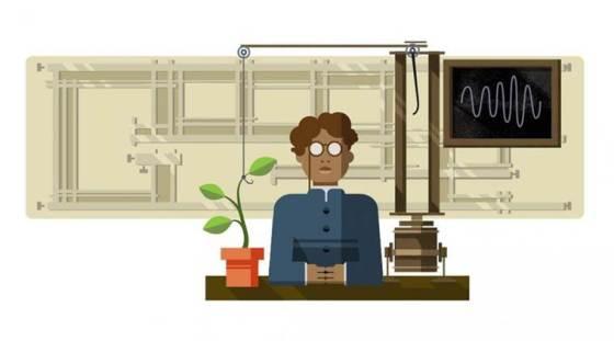 google-doodle1jagdish-chandra-bose