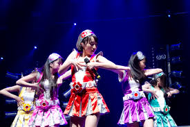 Momoiro Clover Z (Z is officially pronounced as /zɛd/ on international activities) (ももいろクローバーZ, Momoiro Kurōbā Zetto) is a Japanese idol group.