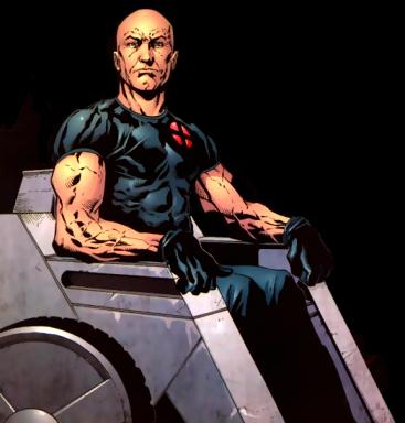 Professor Charles Xavier Art by Aaron Lopresti
