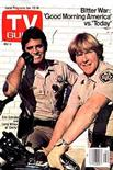 CHiP's Erik Estrada and Larry Wilcox on cover of TV Guide