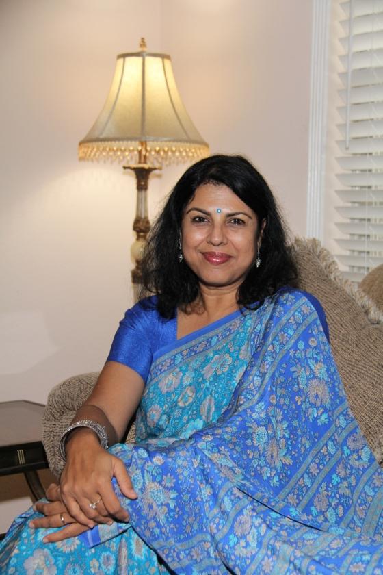 Fantasy writer Chitra Banerjee Divakaruni
