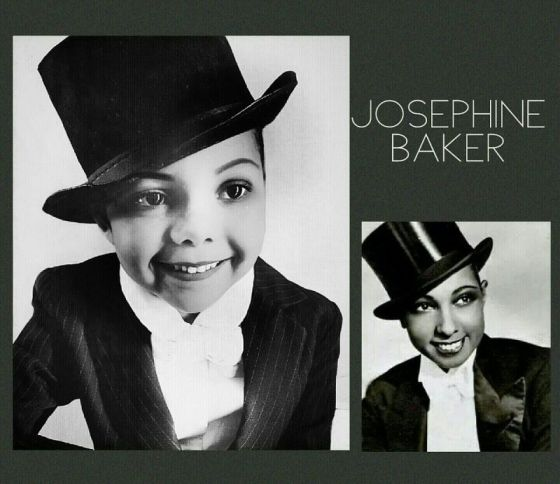 Cristi Smith-Jones's daughter Lola as Josephine Baker.
