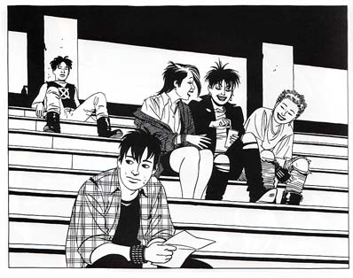 love-and-rockets-hanging-in-the-bleachers