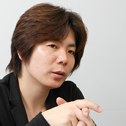 Game developer and producer Masachika Kawata at Capcom 2011