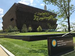 The Smithsonian National Museum of African American History and Culture in Washington, D.C.