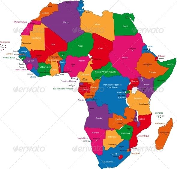 Africa Map Emoji | Joodsetegoeden